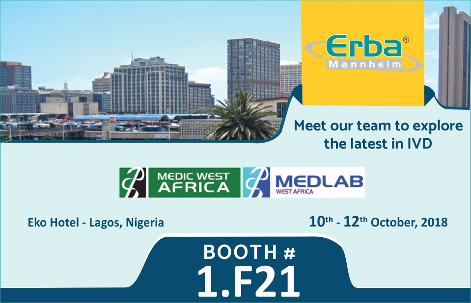 Erba invite for Medlab west africa