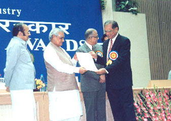 National Export Award 2000